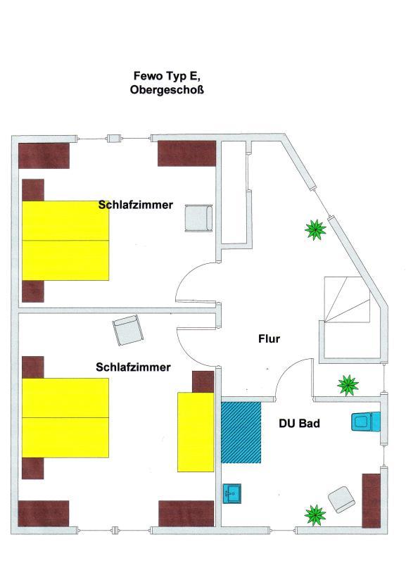 Floor plan upper floor
