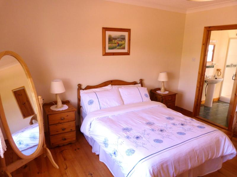 One of the 3 Ensuite Bedrooms in the cottage