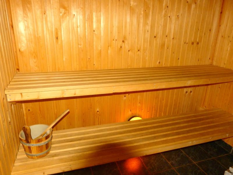 The sauna in Carrickfinn Cottage