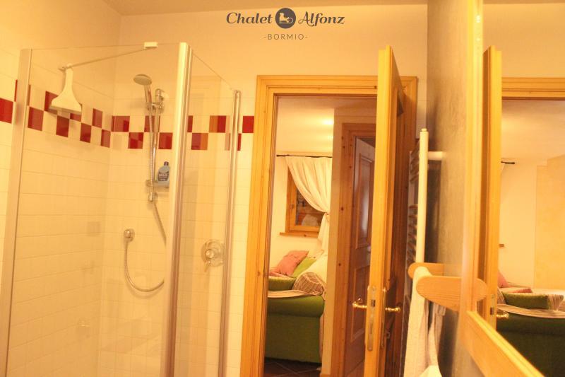 Chalet Alfonz | TERRAZZA: bagno, bathroom