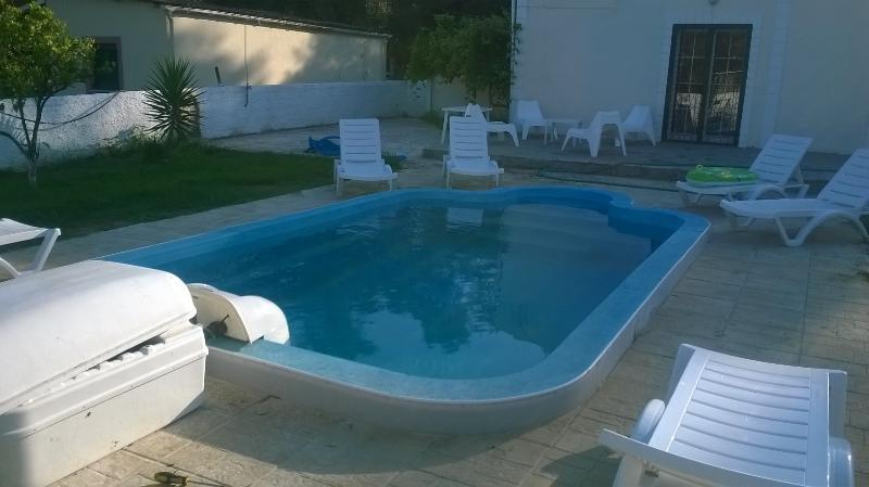 Pool is 1m 70cm deep.