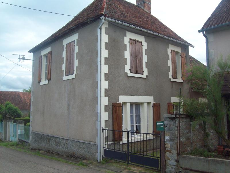'Le Bourg' viewed from the road.