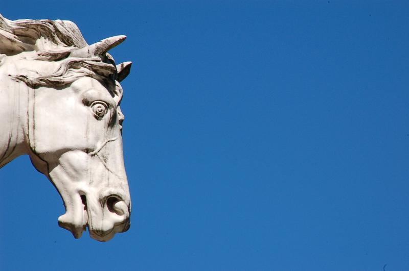 Villa Allegra - detalle - el caballo