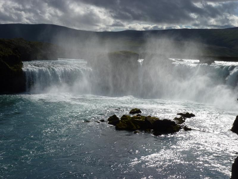 The majestic Godafoss - only a 30 minutes drive