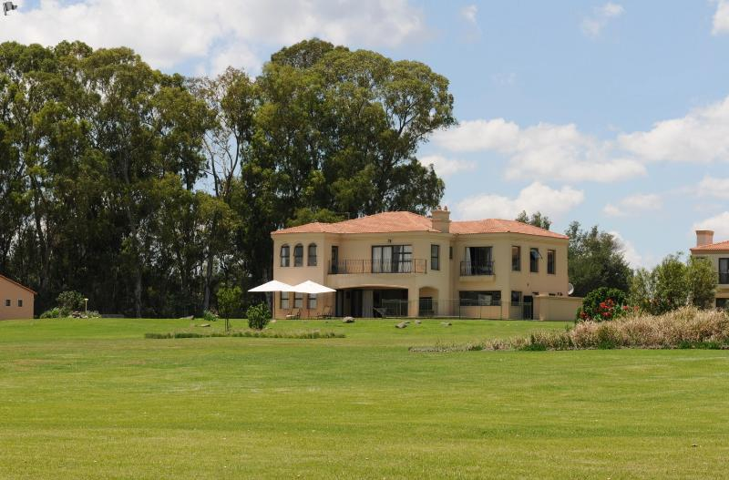 View of home from the Vaal river North facing