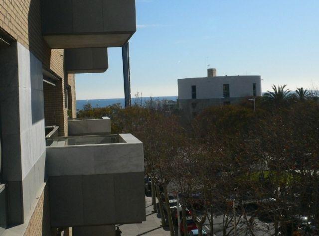 Vue depuis la terrasse sur le toit