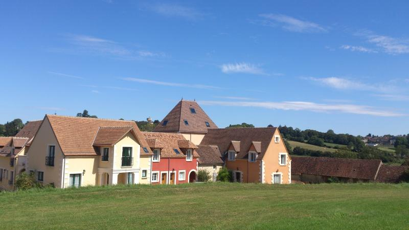 The Normandy Golf and Country Club village - House is the lovely red one on the right