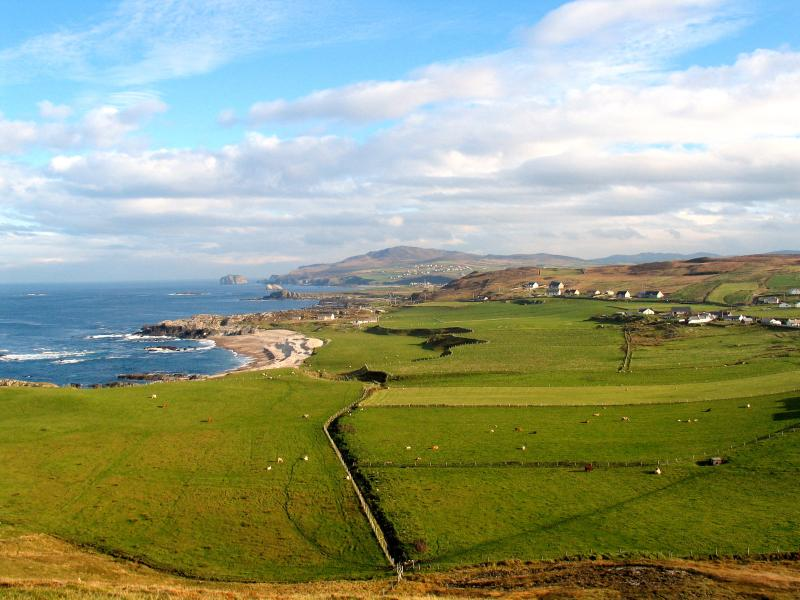 View from Ireland's most northerly point