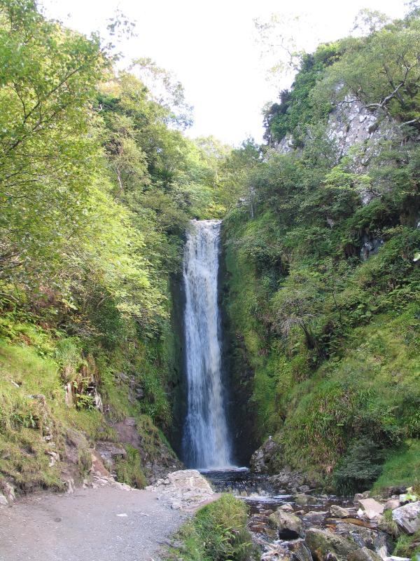 Glenevin waterfall near Clonmanny