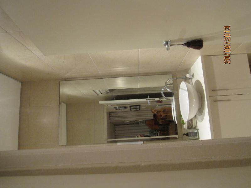 Bathroom - classical basin with cupboard