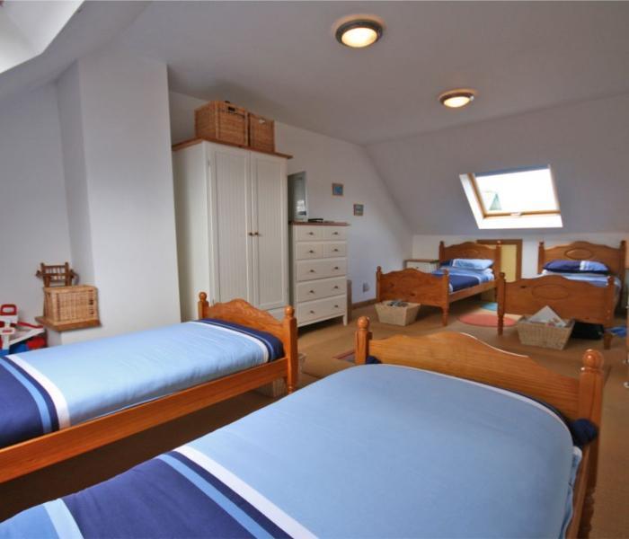 Big bedroom upstairs