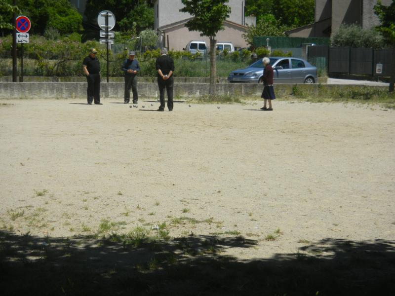 Play boules with the locals - if you dare ;)