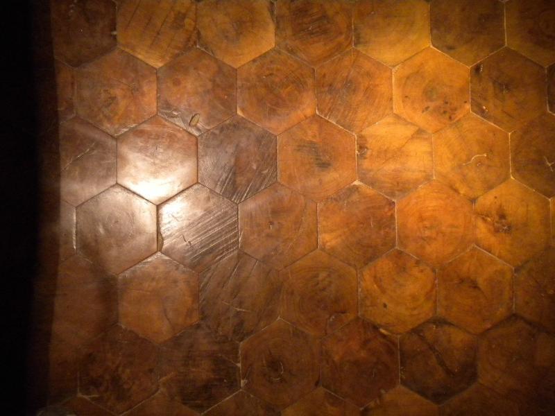 el piso de tacos exagonales,apart.