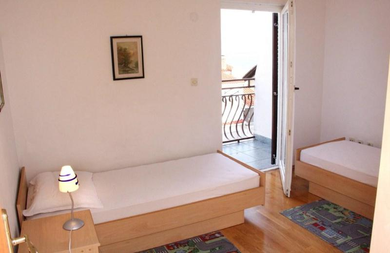 bedroom - two separated beds