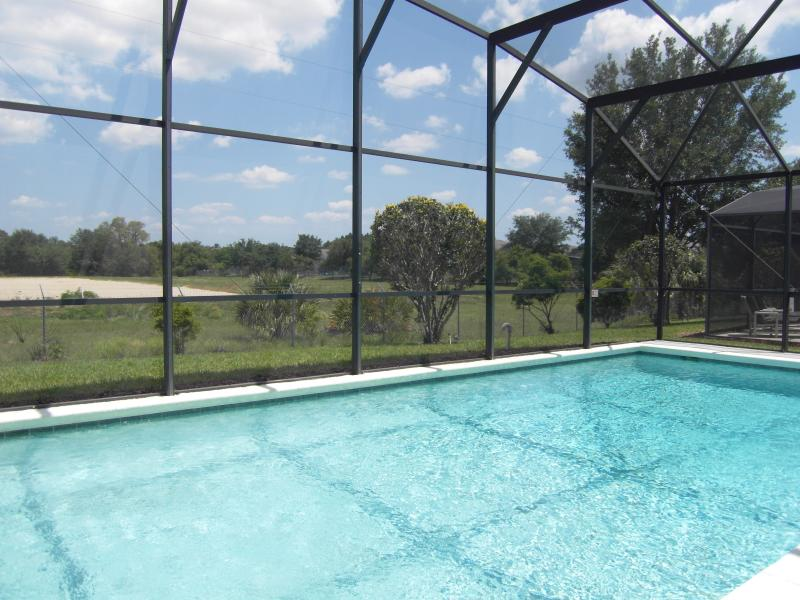 Private Swimming Pool with open aspect