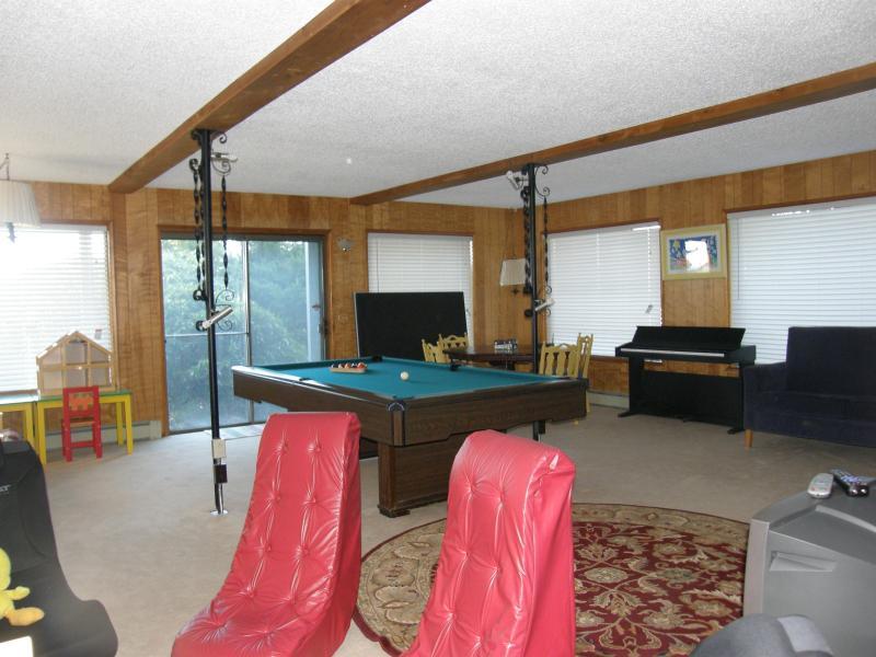 Pool / game room downstairs