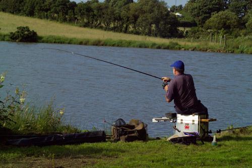 Angler on the Lake