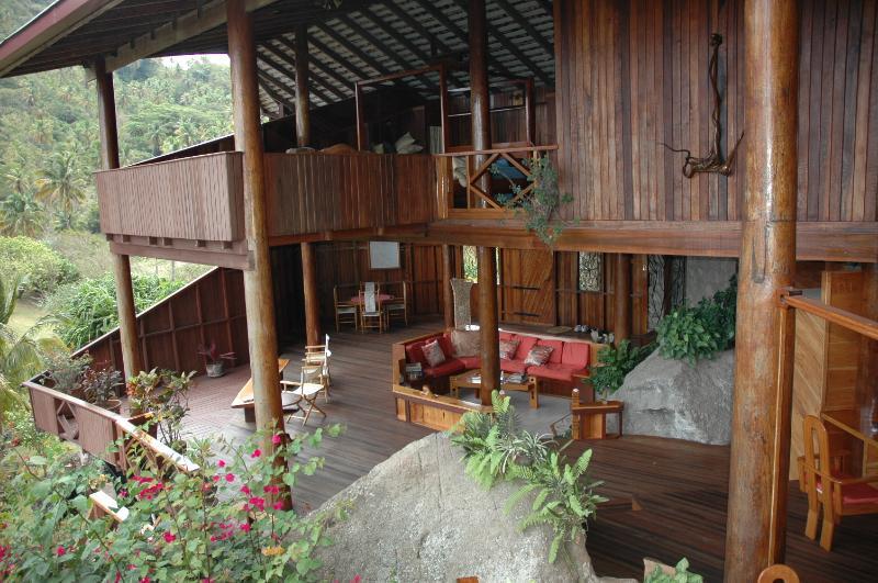 View of Villa from second floor