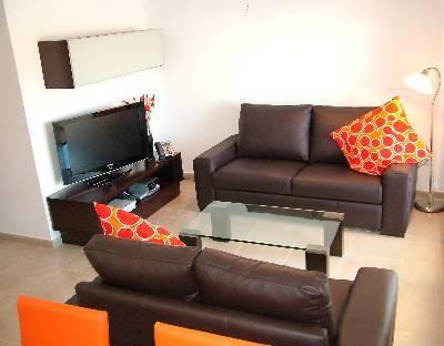 La Torre Apartment Lounge Area - Well equiped and modern lounge area with Sat TV