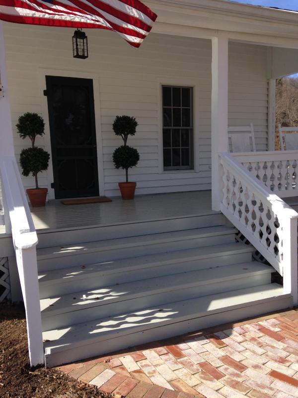 Farm front porch