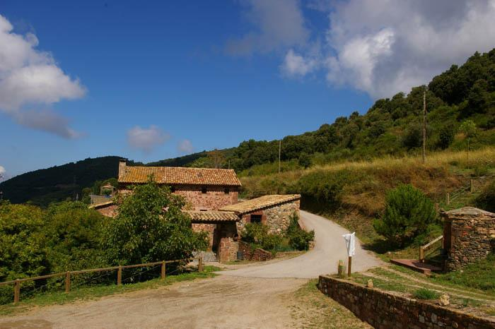 Mulberry, equipment of the Natural Park of Montseny