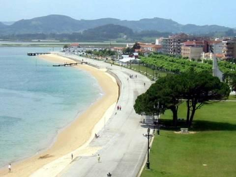 playa y paseo