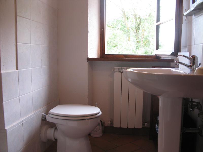 La Stalletta: segundo dormitorio: pequeño baño en-suite con ducha