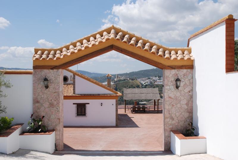 Entrance to the House Villa Balcony