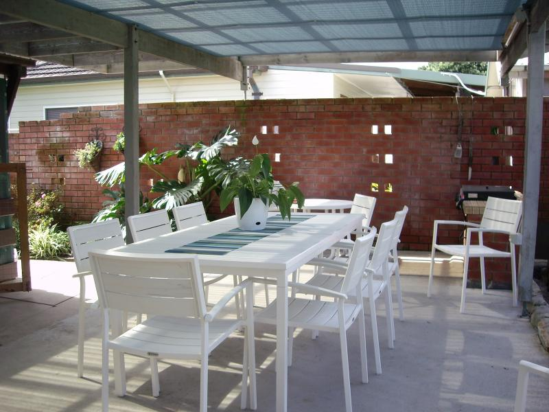 Out door dining and seating