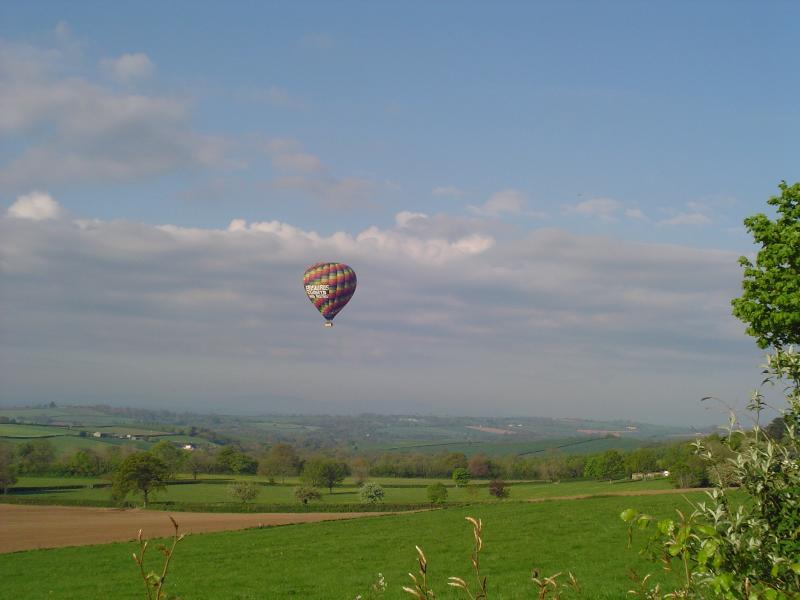 The view! towards Dartmoor