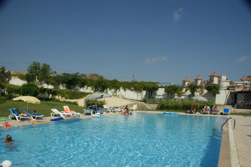 The main pool is just 20 metres from the villa