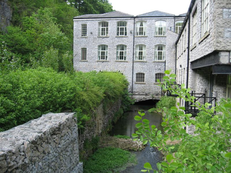 Rear of the mill