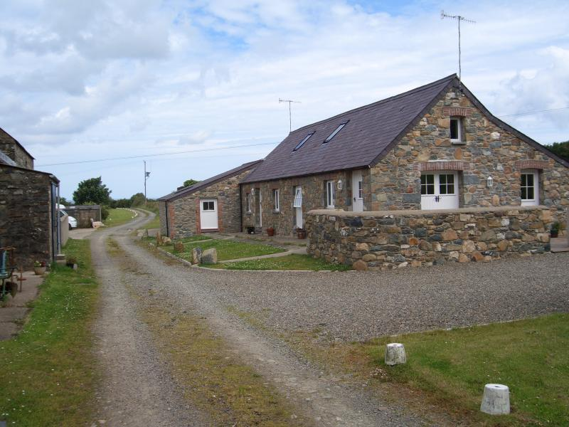 Stone cosy cottage, sunny private patio, parking., alquiler vacacional en Newport -Trefdraeth