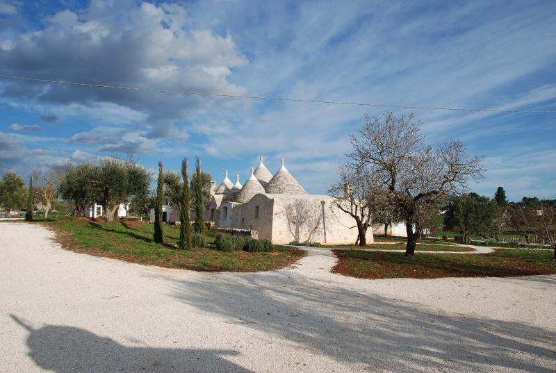 Trulli fully restored