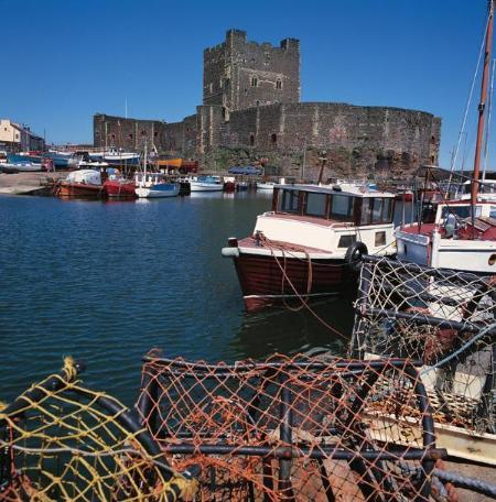 5 minute walk from Carrickfergus Castle