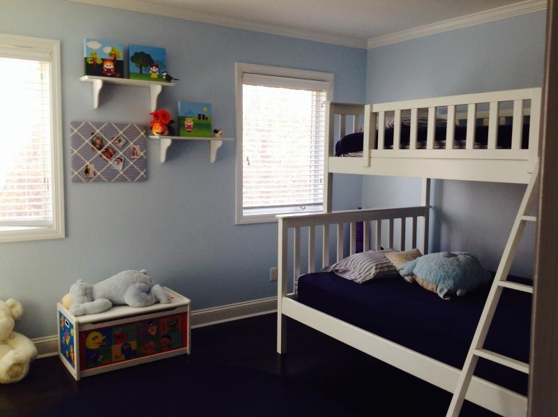 Fourth bedroom with bunk beds