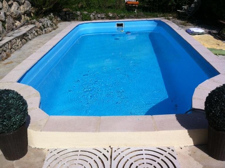 The swimming pool