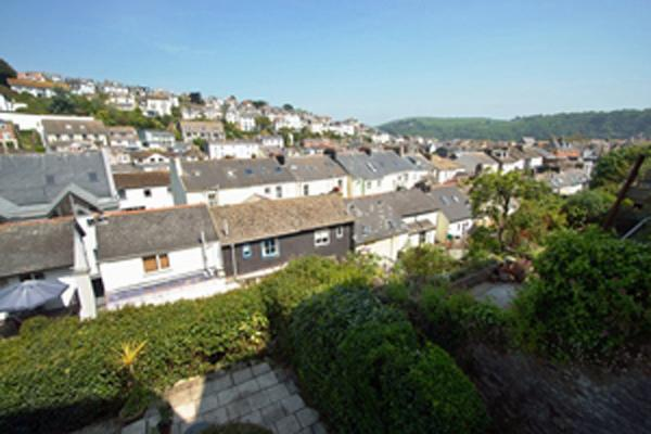 View over Dartmouth from the terrace of Carefree