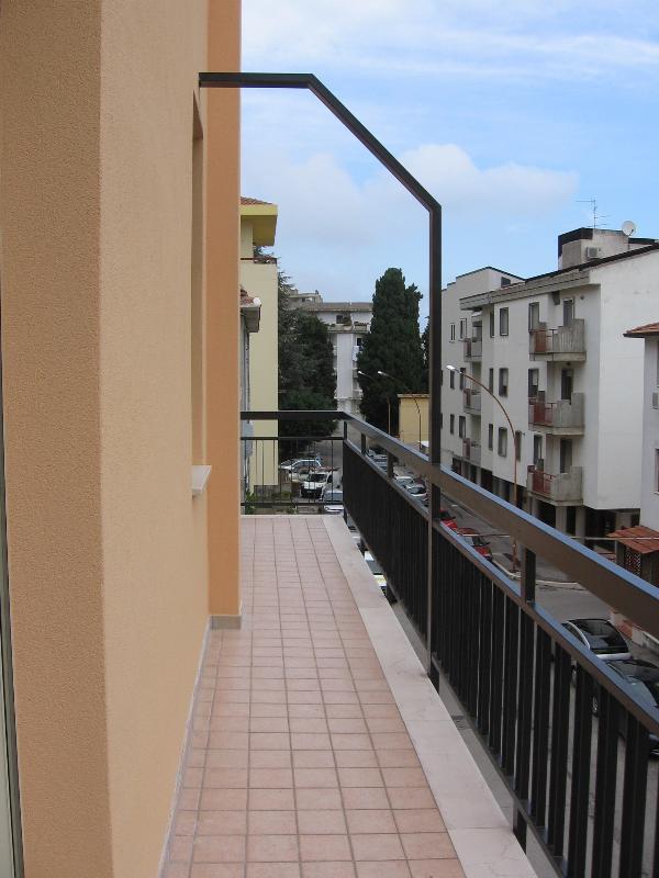 the main balcony