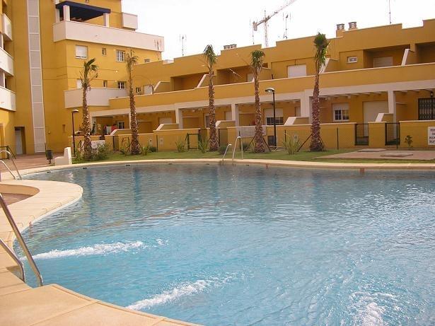 Outside pool