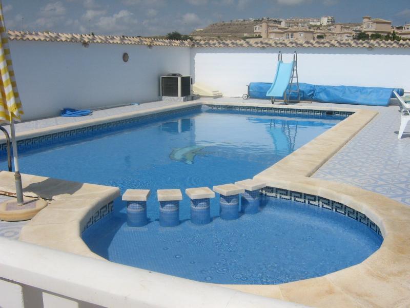 Childrens pool area