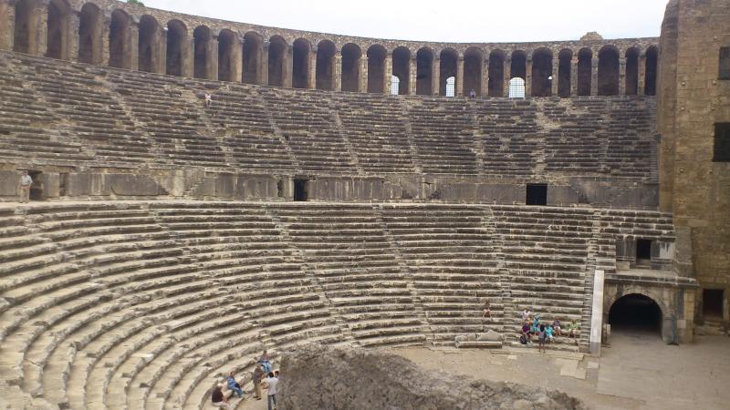 Aspendos - anfiteatro romano