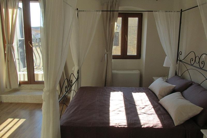 Romantic double room with balcony