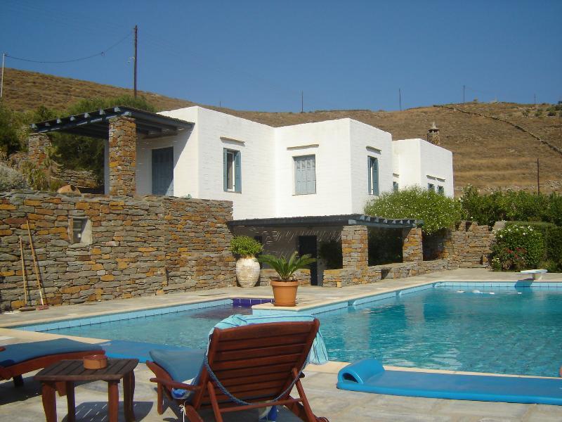 Kea Villa with Pool – semesterbostad i Otzias
