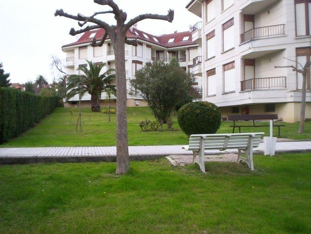 Una parte del Jardín de la Urbanización