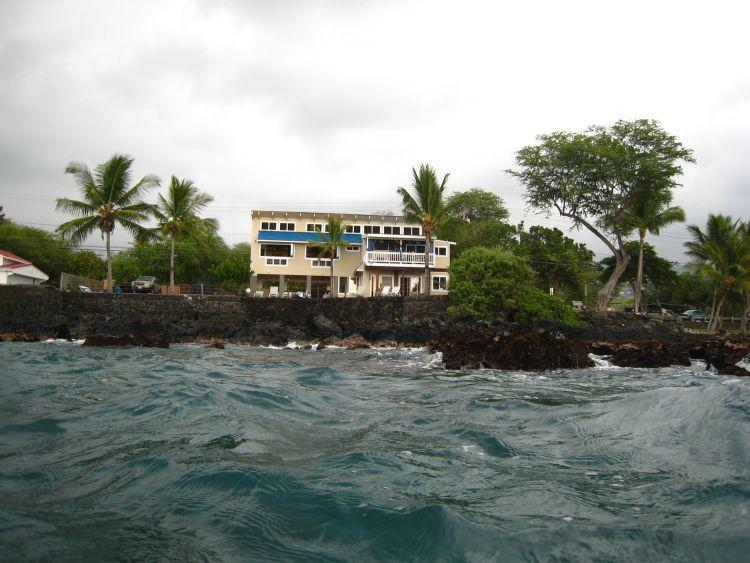 Yes, Hale Honu is right on the ocean!
