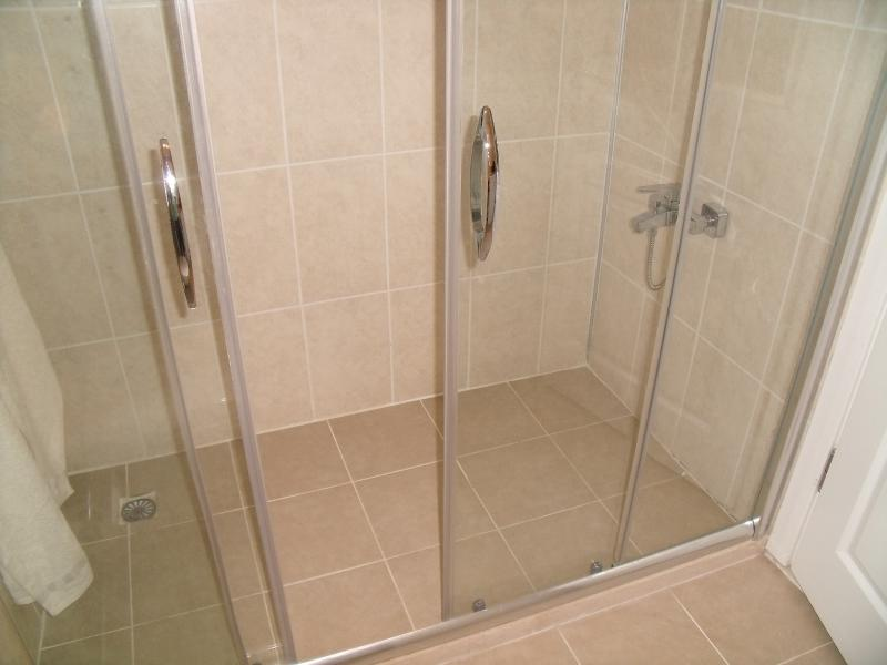 Second bathroom with walk in shower