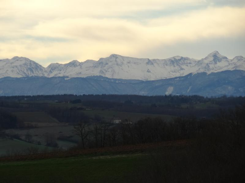 Views of the pyrenees