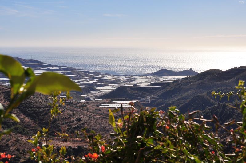 Terraza natural de la sierra al mar