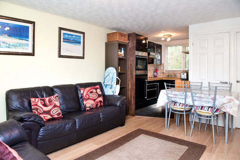 lounge / kitchen area